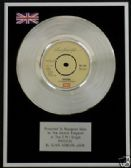 "OLIVIA NEWTON JOHN - 7"" Platinum Disc - PHYSICAL"